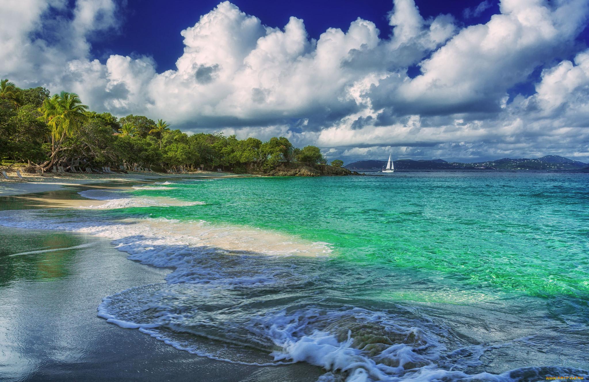 запись фото тропических берегов убрать